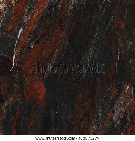 Beautiful, red, black and white marble texture, natural stone