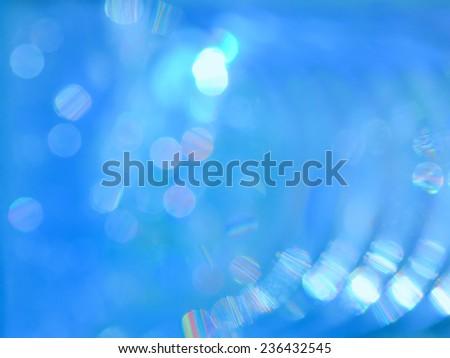 Beautiful reflect bokeh of lighting on water as background - stock photo