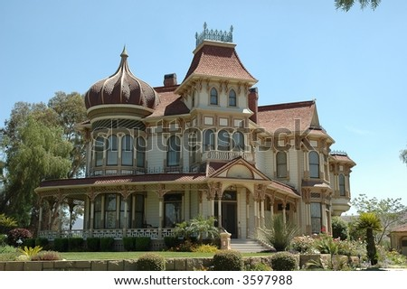 Beautiful restored victorian home located in California