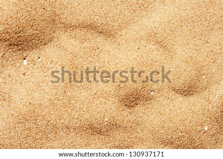 beautiful sand background - stock photo