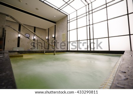 Beautiful sauna/SPA center.