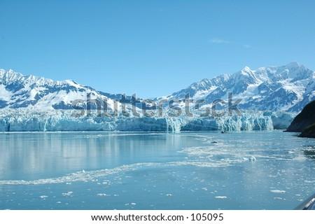 Beautiful Scenery (Alaska) - stock photo