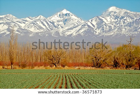 Beautiful Scenery in Argentina - stock photo