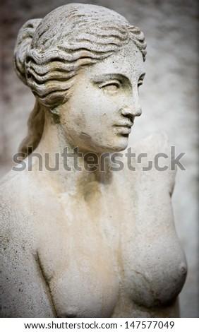 Beautiful sculpture - stock photo