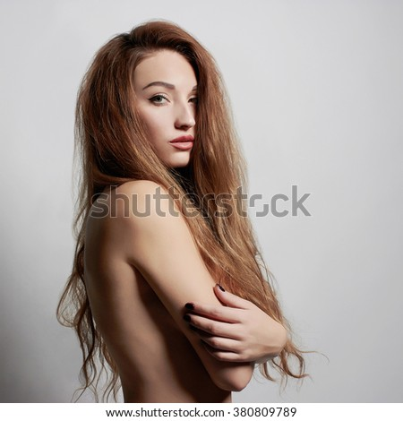 beautiful sexy young woman. beauty girl with healthy hair