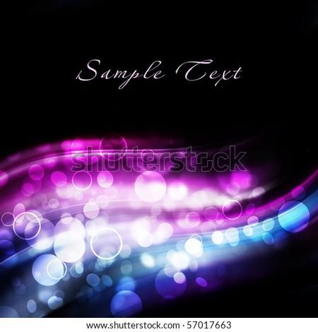 Beautiful shining fractal - stock photo
