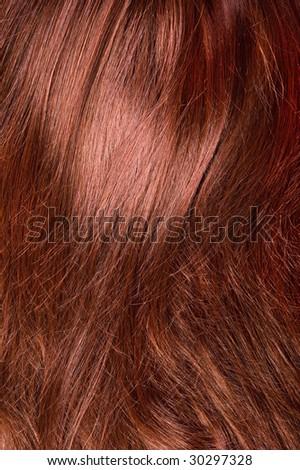 beautiful shiny healthy hair texture - stock photo