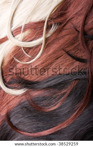 beautiful shiny healthy style hair