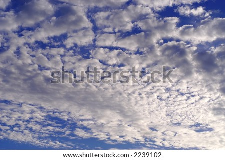 Beautiful sky for a daydreaming. - stock photo