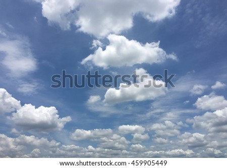 beautiful sky with clouds background