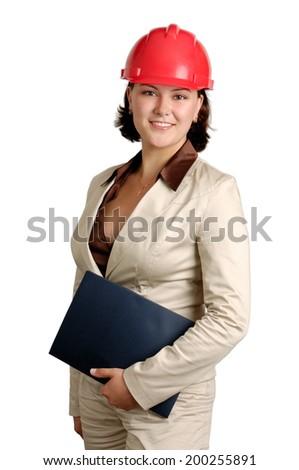 Beautiful smiling woman. - stock photo