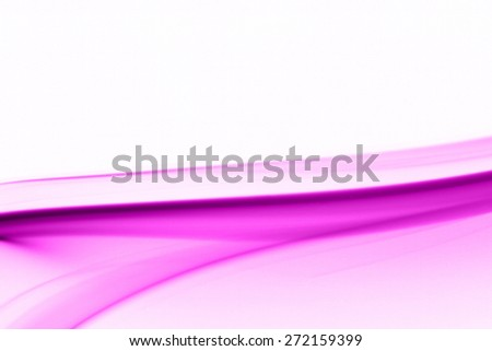 Beautiful smoke on the white background - macro photo - stock photo