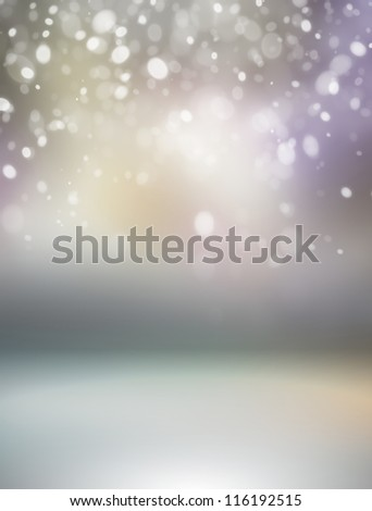 Beautiful snowflake Christmas background - stock photo