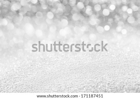 Beautiful snowy background - stock photo