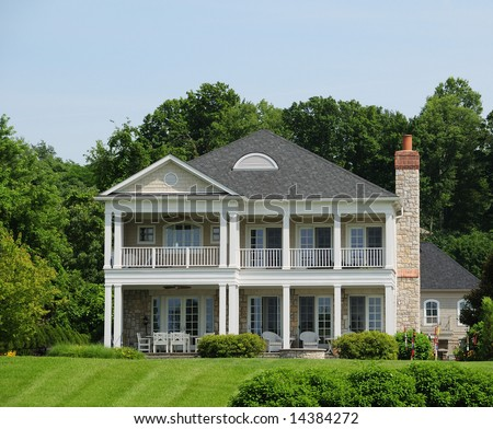 Beautiful Southern Style Home - Typical of Kentucky and the southern US states.