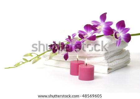 Beautiful spa - stock photo