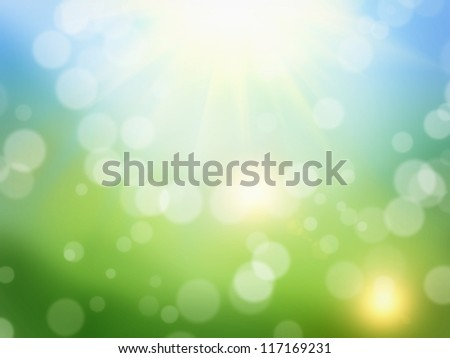 Beautiful spring abstract background suitable for collages