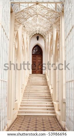 Beautiful stairs - stock photo