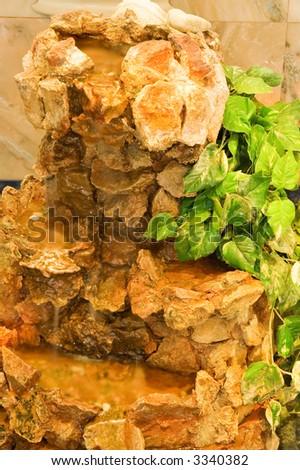 Beautiful stone decoration - stock photo