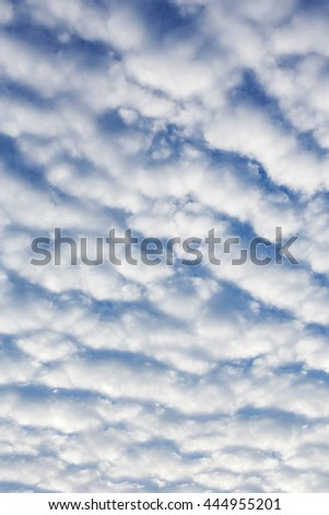 Beautiful Stratocumulus Clouds