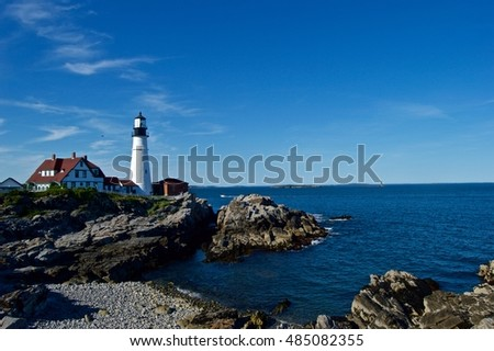 Beautiful, stunning Maine coastline