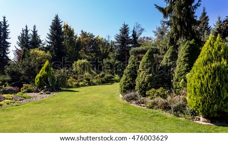 Scenic Conifer Stock Images Royaltyfree Images  Vectors  Shutterstock With Heavenly Beautiful Summer Garden Design With Conifer Trees Green Grass And Morning  Sun Cut With Amazing Garden Noam Also Garden Truck In Addition Steel Garden Arch And Sophia Gardens Camping As Well As Trentham Gardens Garden Centre Additionally Dragon Garden Watford From Shutterstockcom With   Heavenly Conifer Stock Images Royaltyfree Images  Vectors  Shutterstock With Amazing Beautiful Summer Garden Design With Conifer Trees Green Grass And Morning  Sun Cut And Scenic Garden Noam Also Garden Truck In Addition Steel Garden Arch From Shutterstockcom