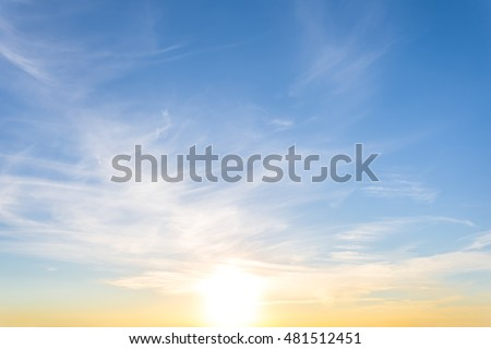 beautiful sunset background
