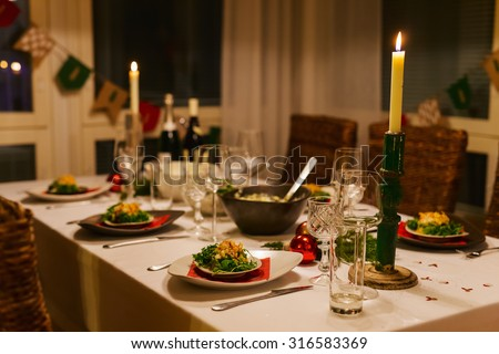 dinner table stock images, royalty-free images & vectors
