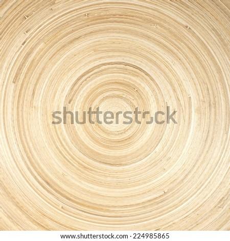 beautiful texture of natural modern wood circle rings  - stock photo