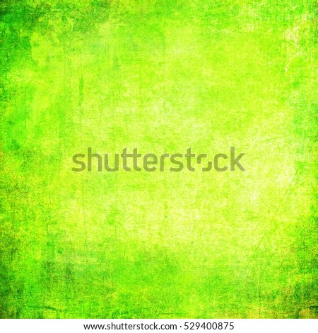 Beautiful texture of paper. Universal design. Green and yellow color background.
