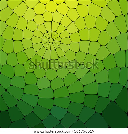 Beautiful tile background of multicolored shape. illustration for Business Brochure or Cover. - stock photo