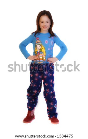 Beautiful Toddler - stock photo