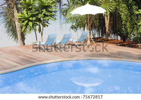 Beautiful tropical beach at island Koh Kood , Thailand. - stock photo