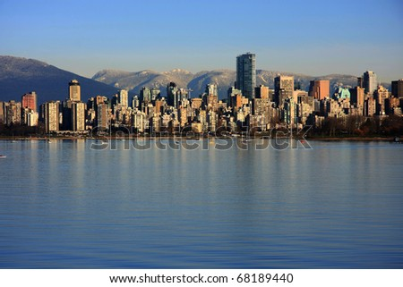 Beautiful Vancouver. - stock photo