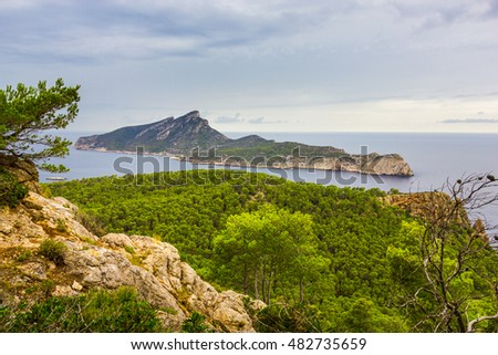 Beautiful view of Andratx, Mallorca, Baleares, Spain