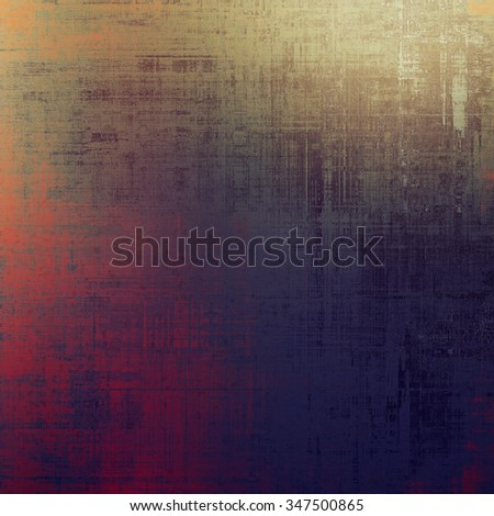 Beautiful vintage background. With different color patterns: brown; purple (violet); red (orange); black