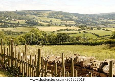 Beautiful Wales scenery - stock photo