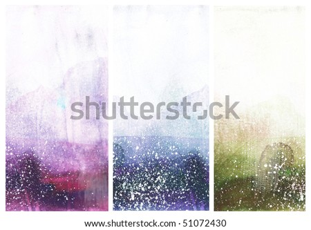 Beautiful watercolor background -  Great for textures and backgrounds for your projects - stock photo