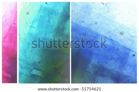 Beautiful watercolor background- Great for textures and backgrounds for your projects - stock photo