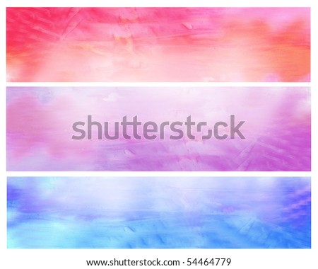 Beautiful watercolor background in soft pink, purple and blue- Great for textures and backgrounds for your projects! - stock photo