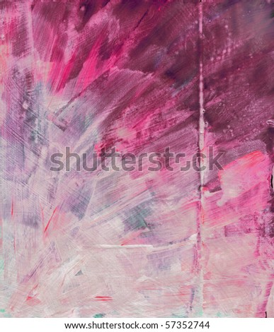Beautiful watercolor background in soft red and light purple- Great for textures and backgrounds for your projects! - stock photo