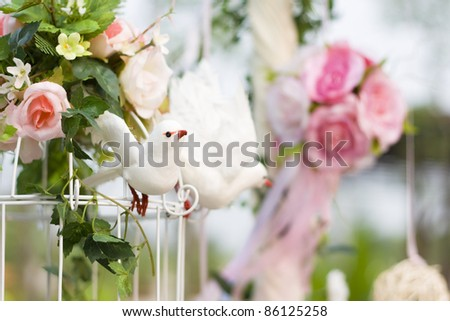 Beautiful wedding - stock photo