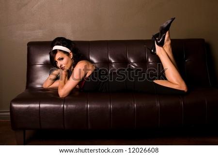 Beautiful woman. - stock photo
