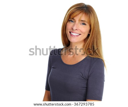 Beautiful woman. - stock photo