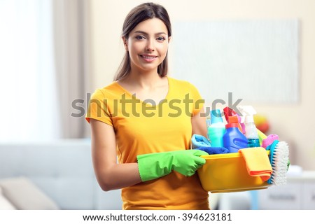 Cleaning Supplies Stock Images Royalty Free Images