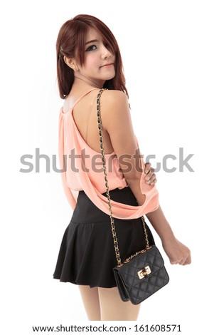 Asian Women In Skirts