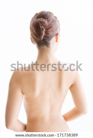 Beautiful young woman body - stock photo