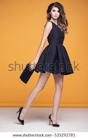 Elegant black dress images