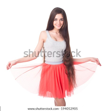 Wonderful Woman Boudoir Lifts Skirt 1958 195039s Images Photography Stock
