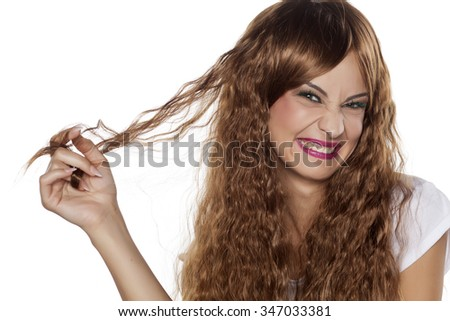 Ugly Girl Stock Images RoyaltyFree Images Vectors Shutterstock - Haircut ugly girl